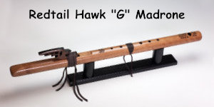 """Red Tail Hawk """"G"""" Madrone"""